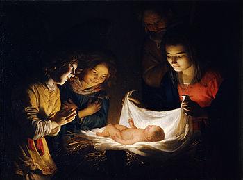 Gherardo_delle_Notti_o_Gheritt_van_Hontorst_-_Adorazione_del_Bambino_-_Google_Art_Project
