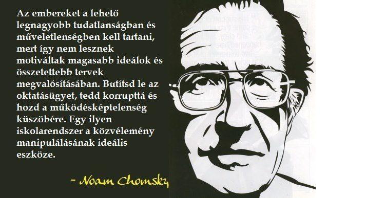 Chomsky tízparancsolat