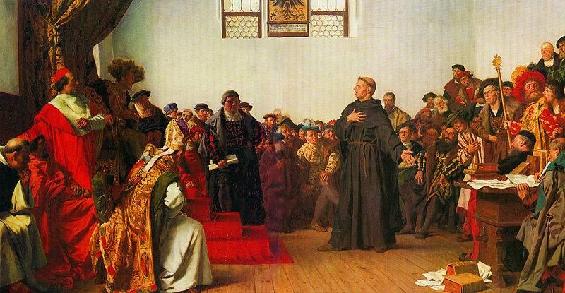 Luther Márton: A római pápáról